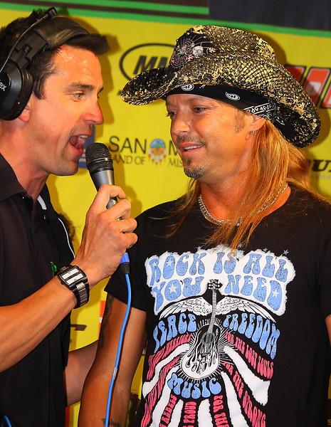Bret Michaels Las Vegas AMA SX