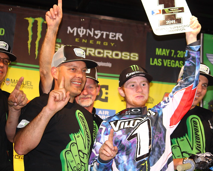 2011 World AMA SX Champion Ryan Villopoto