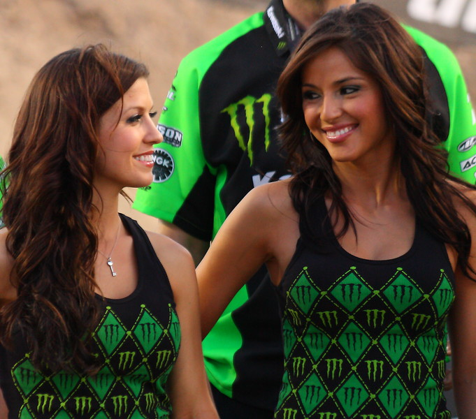 Team Monster Energy Girls Las Vegas.