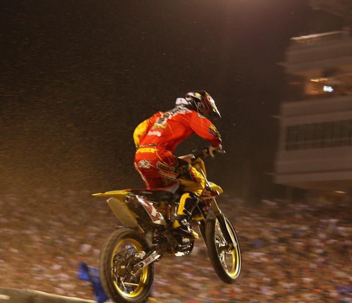 Ryan Dungey Airborne AMA SX Championship Las Vegas
