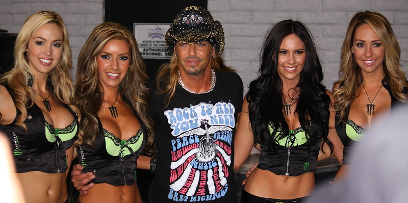 Bret Michaels and Monster Girls