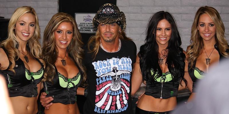 Bret Michaels and Monster Girls
