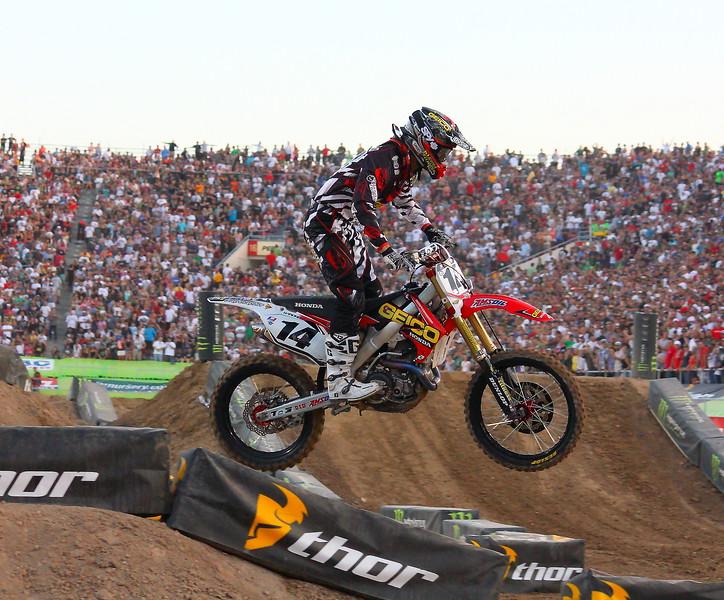Kevin Windham AMA Supercross Las Vegas