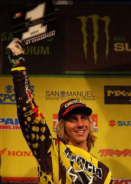 AMA SX Lites East Champion Jason Barcia.