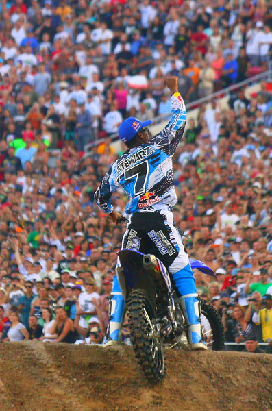 No. 7 James Stewart AMA SX Las Vegas