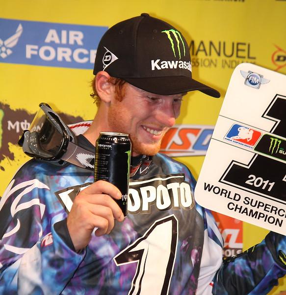 Ryan Villopoto 2011 Supercross Champion