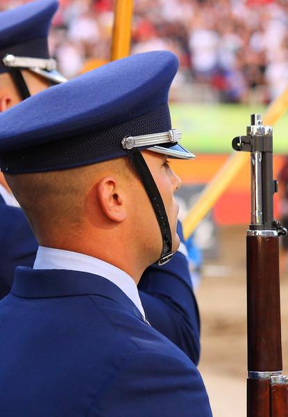 AMA SX Air Force Color Guard Las Vegas.