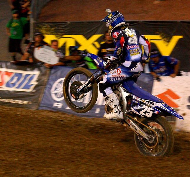 No. 25 Ryan Sipes AMA SX Las Vegas.