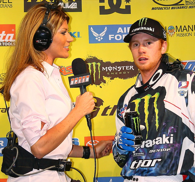 Ryan Villopoto and Erin Bates