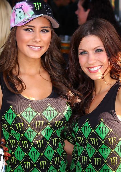 Monster Energy Drink Girls Exhibit Sam Boyd Stadium