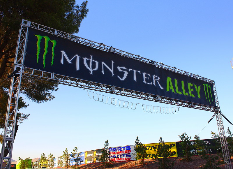 Monster Alley AMA SX Vegas.