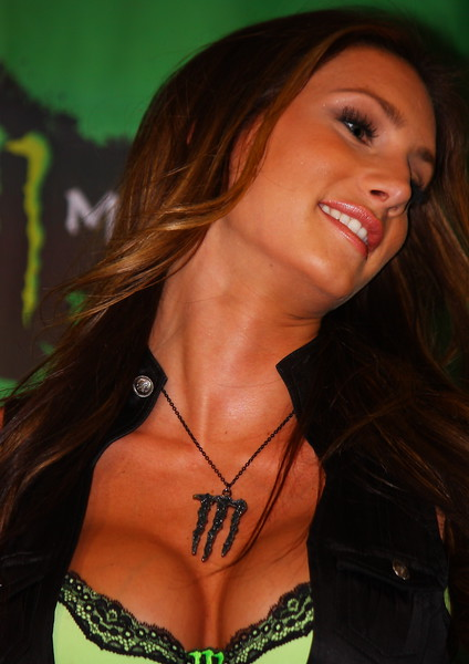 AMA SX Vegas Monster Energy Girl.