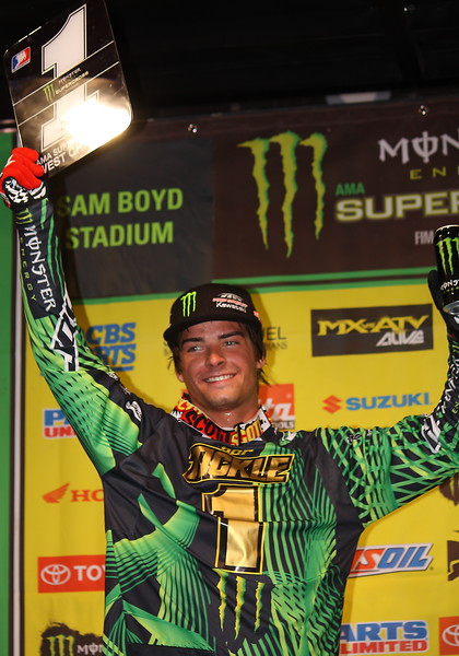 Broc Tickle 2011 AMA SX Lites West Champion.