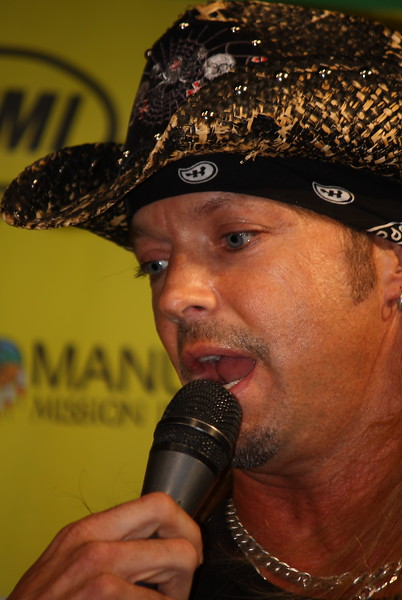 Bret Michaels 2011 AMA SX Sam Boyd Stadium