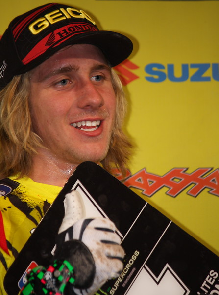 ustin Barcia 2011 SX Lites East Champion