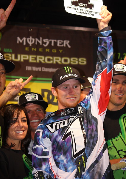 World Supercross Champion Ryan Villopoto