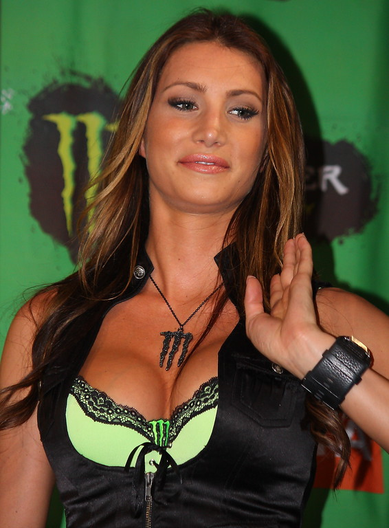 Monster Energy Girl.