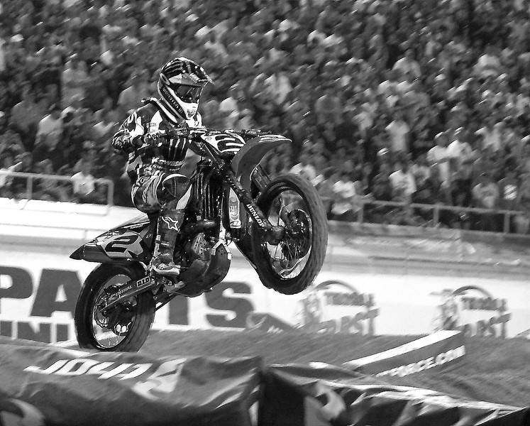 AMA Supercross World Champion Ryan Villopoto Las Vegas
