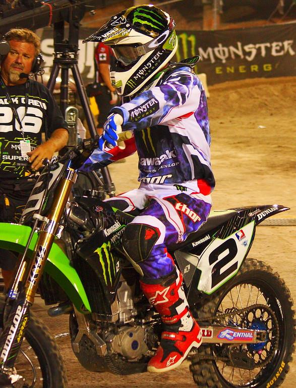 Ryan Villopoto Champion AMA SX 2011.
