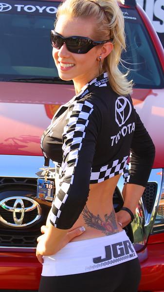 JGR Girl AMA SX Vegas