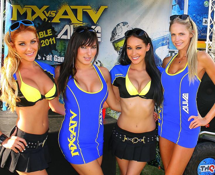 MX vs ATV Girls Sam Boyd Stadium