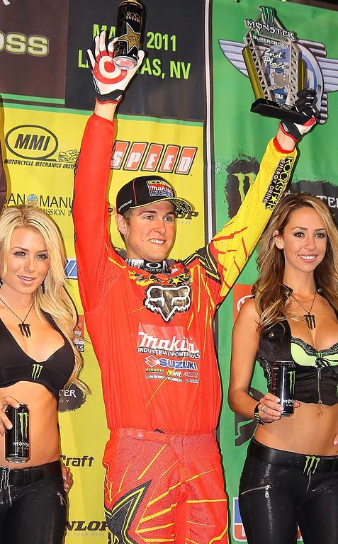 Ryan Dungey 2nd Place AMA SX Las Vegas
