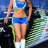 Falken Tire Girl with Vaughn Gitten Monster Drift Car AMA SX Texas
