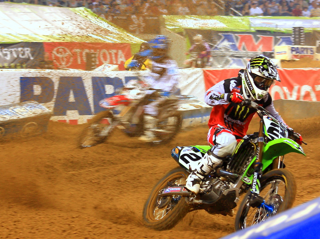 Ryan Villopoto AMA Supercross Main Event Texas