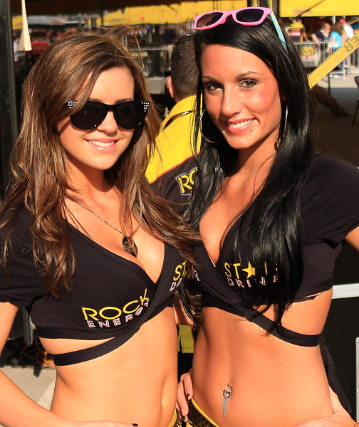 Rockstar Energy Girls AMA Supercross Cowboys Stadium
