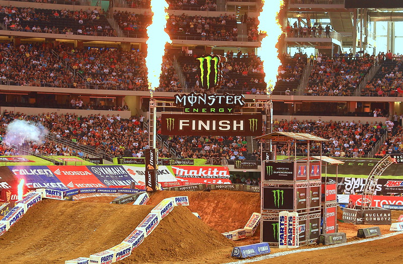 Monster AMA SX Texas