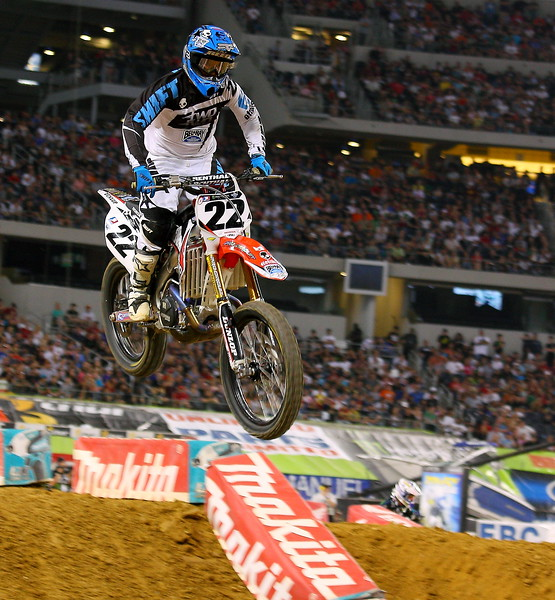 Chad Reed AMA SX Arlington Cowboys Stadium Main Event