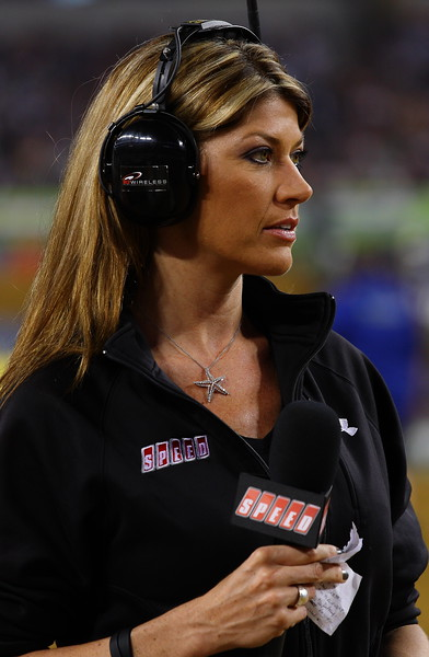 Speed's Erin Bates AMA SX Cowboys Stadium 2011