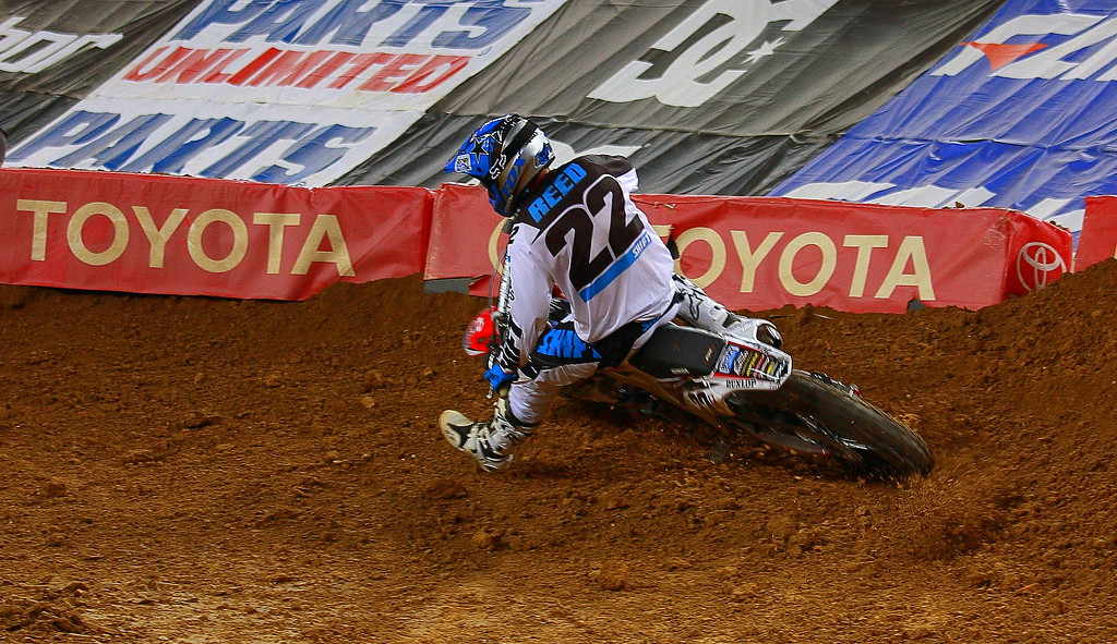 Monster Energy AMA SX Rider Chad Reed Texas