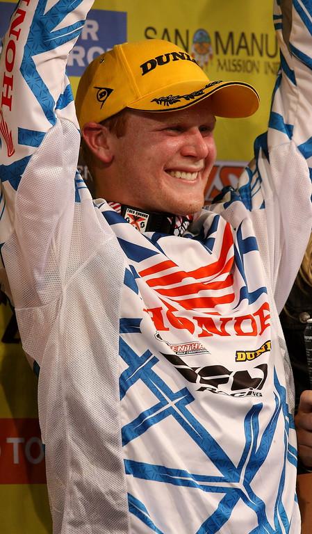 Trey Canard AMA SX Winner Arlington Texas