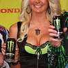 Monster Energy Drink Girl on Podium AMA Supercross Texas