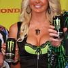 Monster Energy Drink Girl on Podium AMA Supercross Texas