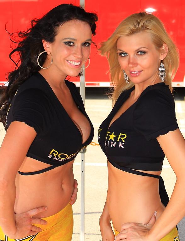 Rockstar Energy Drink Girls AMA SX Texas