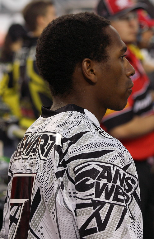 ames Bubba Stewart AMA Supercross Texas 2011