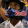 James Stewart Preparing for AMA SX Main Event Cowboys Stadium 2011