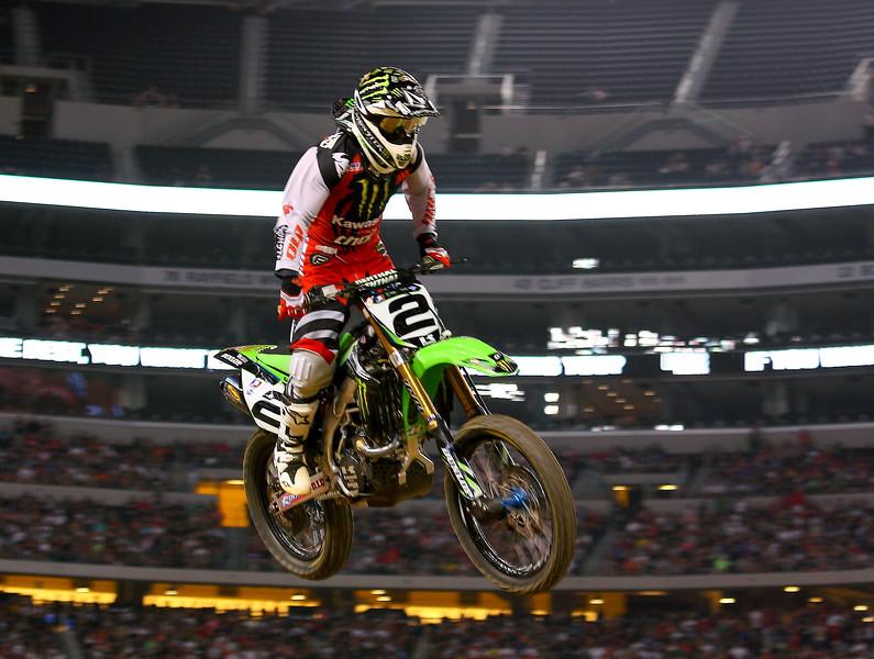 Ryan Villopoto AMA SX Arlington Cowboys Stadium Main Event.