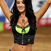 Monster Energy Drink Girl Signals for Main Event AMA Supercross Texas