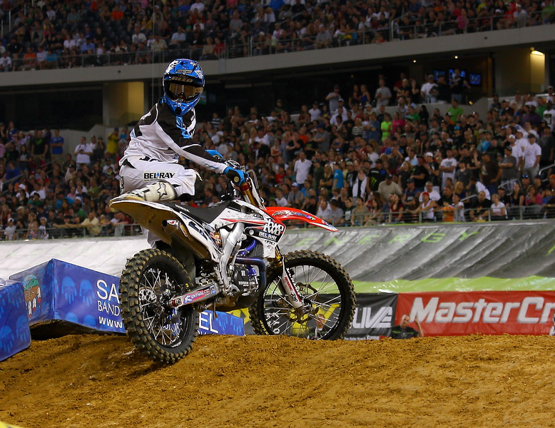 Chad Reed AMA SX Texas Main Event.