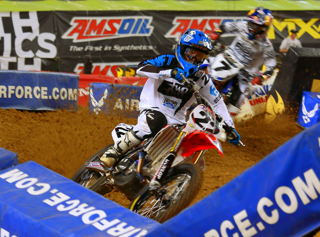 Chad Reed Leads James Stewart Monster Energy AMA SX Texas