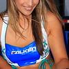 Falken Tire Girl Signing Autographs AMA SX Texas 2011