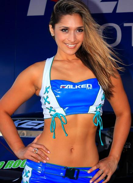 Falken Tire Girl AMA SX Texas 2011