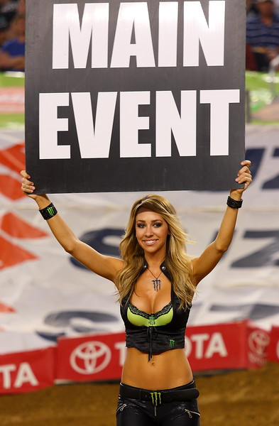 AMA SX Monster Energy Girl Main Event Cowboys Stadium 2011
