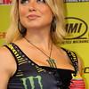Lovely Dianna Dahlgren Ms. AMA Supercross on the Podium Arlington Texas 2011