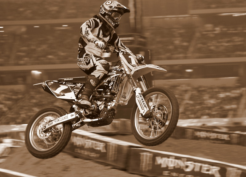 Monster Energy AMA SX Rider Ryan Dungey Texas