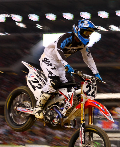 Chad Reed AMA SX Cowboys Stadium Main Event