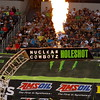 AMA SX Texas Nuclear Cowboyz Holeshot Pre-race Pyro Shoots Flames into Air